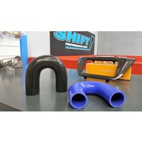 180 Degree Silicone Hose BLACK 51mm (2 Inch) Intercooler Turbo Blow Off Valve