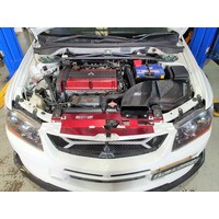Carspeed V2 Kansai Style Carbon Air Filter Box Enclosure - Mitsubishi EVO 7 8 9
