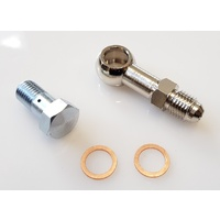 ZAGE Turbo Oil Feed Banjo Fitting Kit M10x1.25 4AN