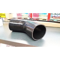 45 Degree Silicone Hose BLACK 102mm (4 Inch) Intercooler Turbo