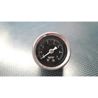 ZAGE Fuel Regulator Gauge Oil Filled