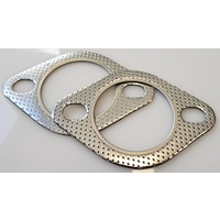 "ZAGE 2.5"" Exhaust Gaskets 2 Bolt Style"
