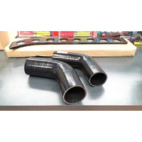 60 Degree Silicone Hose BLACK 76mm (3 Inch) Intercooler Turbo