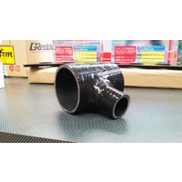 T Joiner Silicone Hose BLACK 60mm Intercooler Turbo Blow Off Valve