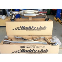 Buddy Club Pro Spec Twin Loop Exhaust - Suits Subaru WRX STI Hatch Back GRB