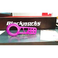 BWR BLACKWORKS USA PURPLE FRONT TOW HOOK