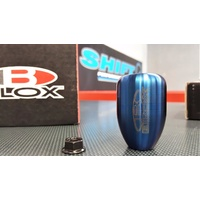 BLOX Racing Weighted Shift Gear Knob Torch Blue M10X1.25 5-Speed EVO Skyline Silvia