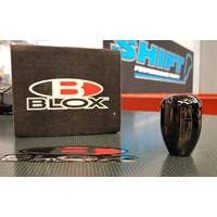 BLOX Racing Weighted Shift Knob - Platinum - M12x1.25 5-Speed WRX GC8 GDA GDB