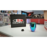 BLOX Racing Weighted Shift Knob - NEO Chrome - M10X1.5 6-Speed Honda DC5 EP3