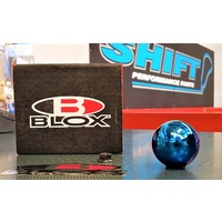 BLOX 490 Weighted Shift Gear Knob - E Blue - M10x1.25 Skyline EVO Silvia Mazda