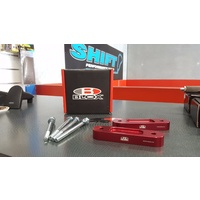 BLOX Honda S2000 Front Bump Steer Kit 20mm Red AP1 AP2