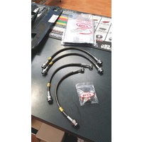 HEL Performance Braided Brake Line Kit - Carbolook - Mitsubishi Lancer EVO 5/6