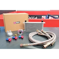 D1 Engine Oil Cooler Kit 19 Row With Filter Relocation British Style