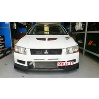 Mitsubishi EVO 7 Carbon Lip Kit - Varis Style