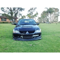 Mitsubishi EVO 8/9 Carbon Lower Lip Kit - Doluck & Damd Style