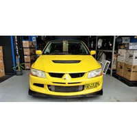 Mitsubishi EVO 8/9 Carbon Lower Lip Kit - Varis & Damd Style