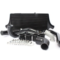 Plazmaman Evo 9 Pro Series Intercooler Kit Black