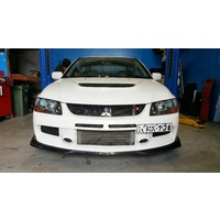 Mitsubishi EVO 9 IX Carbon Lower Lip Kit - Ralliart & Damd Style