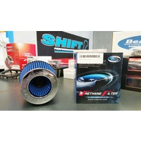 Simota Racing 3.5 Inch High Flow Air Filter Pod - Blue