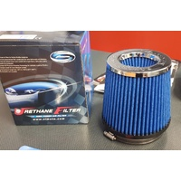 Simota 4.5 Inch Dual Entry High Flow Air Filter - Blue