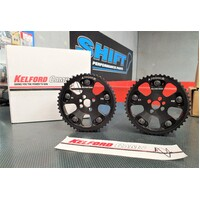 Kelford Adjustable Cam Gears (Black) suits Nissan RB26DETT engines