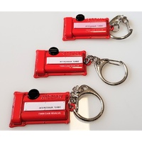 Silvia SR20DET Engine Cam Cover Key Ring RED