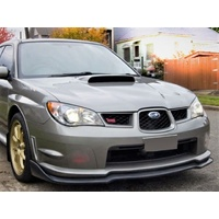 SPP PU Front Lower Lip CS Style Suits Subaru WRX 2006 to 2007
