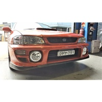 SPP PU Front Lower Lip Splitter Suits Subaru WRX STI Style 1999 to 2000