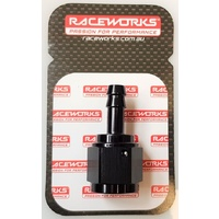 Raceworks Female AN-8 To Barb 5/16""