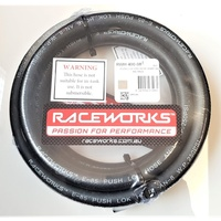 Raceworks 400 Series Push Lok E85 AN-8 Hose 1m Length