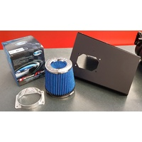 "SPP V4 Air Filter Box Enclosure & Simota 4.5"" Filter Kit - Mitsubishi EVO 7 8 9 IX MR GSR"