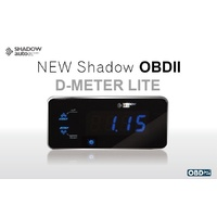 Shadow OBD II Digital Meter Display Boost Water Exhaust Intake Volts