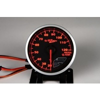 Shadow Pro 2 BF 52mm Water Temperature Gauge Black Out suits EVO Silvia Skyline