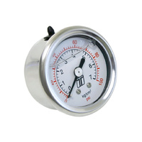 Turbosmart Fuel Pressure FPR Gauge 0-100psi – Liquid Filled