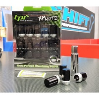 tpi XR Racing Nuts - Black - M12x1.25