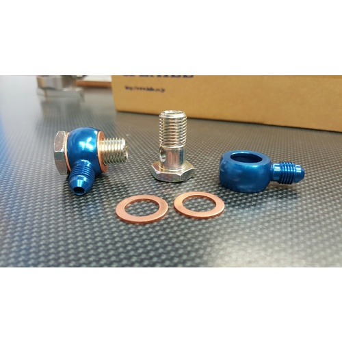 ZAGE Banjo Bolt Kit - M14 1.5mm 4AN Water