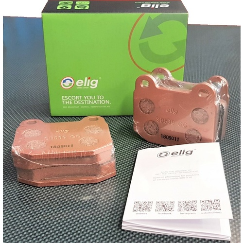 Elig Sport SB539 Rear Brake Pads - Honda S2000 AP1/AP2 (1999-2009) Sports SP-700