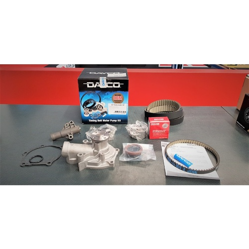 Mitsubishi EVO 8 8MR HKS Timing Belt & Dayco Timing Kit + Water Pump