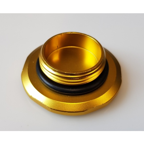 SPP Overflow Bottle Reservoir Cap - Gold